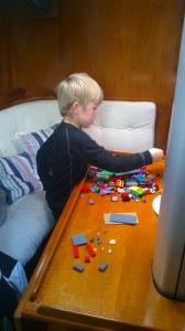 Lego i salongen