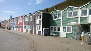 Helgolands typiske bebyggelse