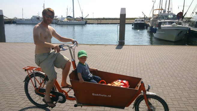 Sykkelleie på Vlieland