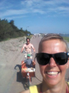 Selfie på sykkeltur