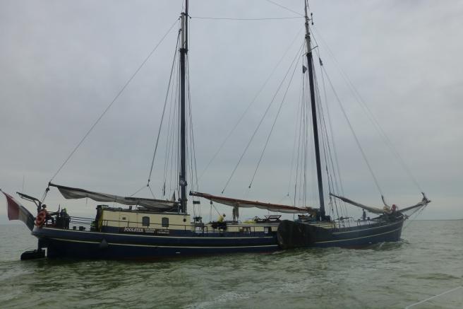 Typisk nederlandsk båt