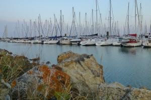 Sunset in Port Haliguen, Quiberon.